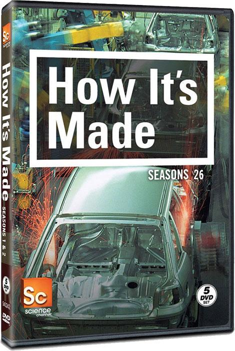 فصل بیست و ششم مستند چگونه ساخته می شود How It's Made