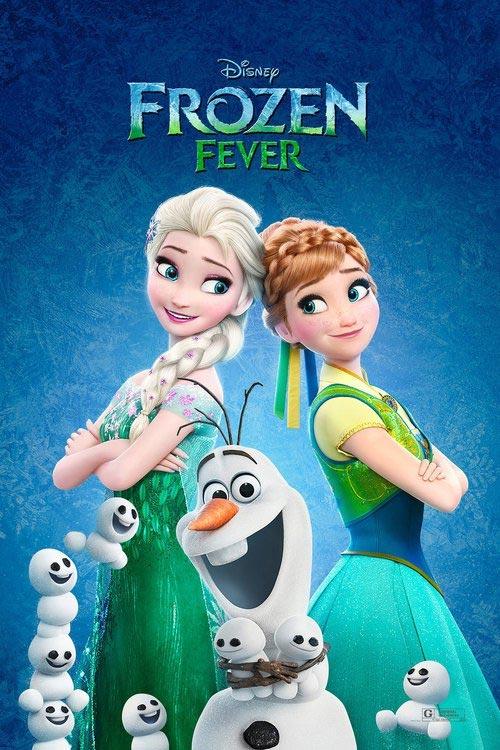 انیمیشن Frozen Fever 2015