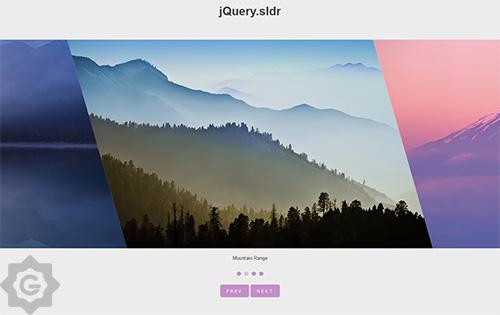 دانلود کتابچه آموزش استفاده از اسلایدر حرفه ای jQuery Sldr