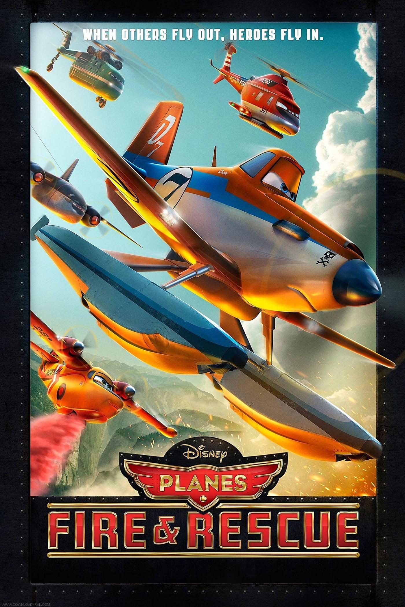 دانلود انیمیشن هواپیماها Planes با دوبله فارسی
