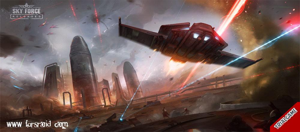 دانلود بازی Sky Force Reloaded برای اندروید