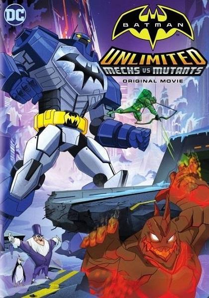 دانلود رایگان فیلم Batman Unlimited Mech VS Mutants 2016