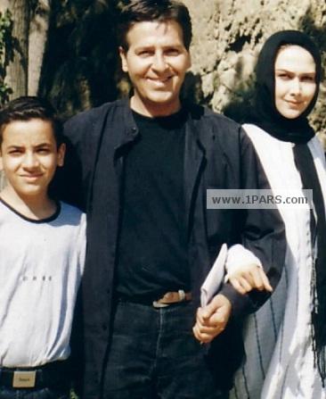 ابوالفضل پور عرب در کنار همسر سابقش آناهیتا نعمتی
