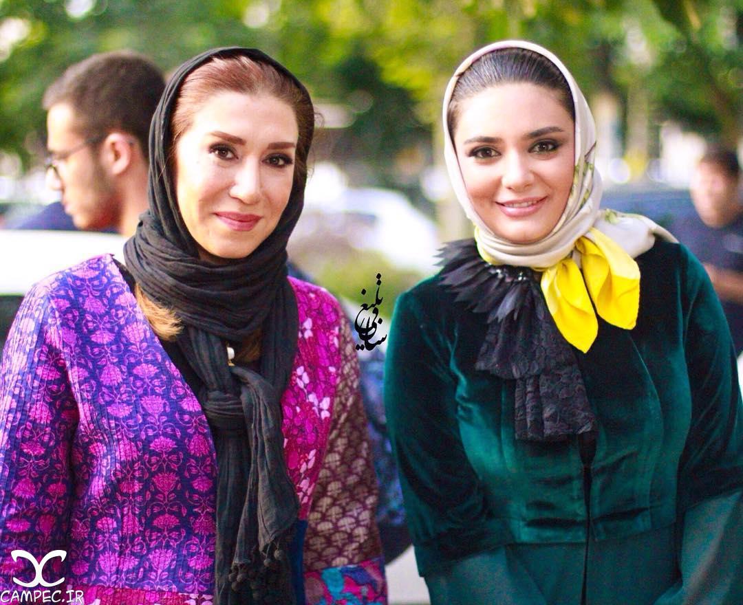 تصاویری از برندگان جشن حافظ فرش قرمز