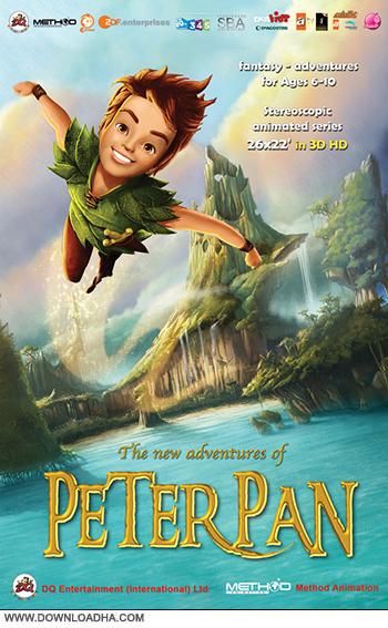 دانلود دوبله فارسی انیمیشن ماجراهای تینکربل و پیترپن – The New Adventures of Peter Pan 2011
