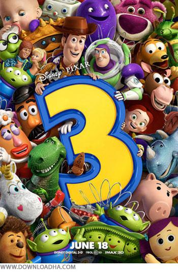 دانلود دوبله فارسی انیمیشن داستان اسباب بازی ۳ – Toy Story 3 2009