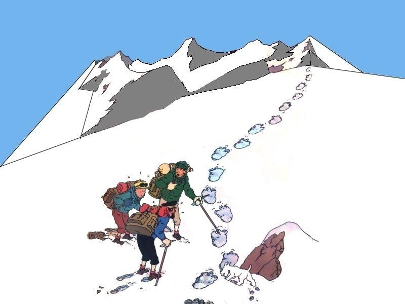 دانلود کتاب های تن تن و میلو ( بصورت PDF - تن تن در تبت )