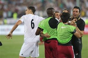 جزئیات و علت درگیری بازی ایران و قطر | عکس و فیلم