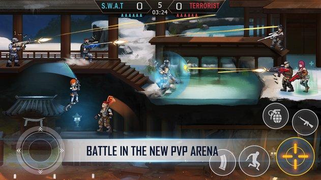 بازی فضای مردگان: اعتصاب تیراندازان | Dead Arena: Strike Sniper