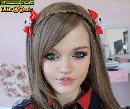 عکس های زیباترین و جذاب ترین دختر جهان شبیه به عروسک+عکس