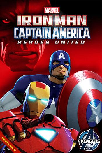 دانلود انیمیشن مرد آهنین و کاپیتان آمریکا: اتحاد قهرمانان – Iron Man and Captain America: Heroes United