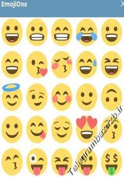 استیکر تلگرام EmojiOne