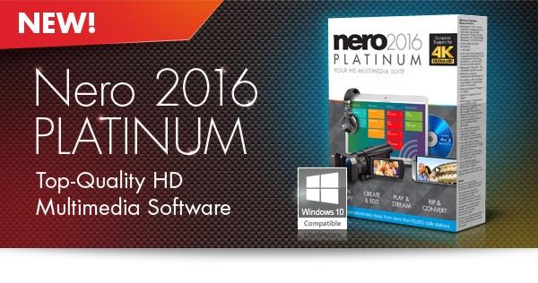 دانلود نرم افزار نرو Nero 2016 Platinum 17.0.04500