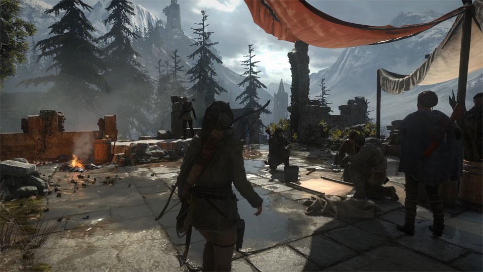 دانلود کلیپ Rise of the Tomb Raider با کیفیت 4K ULTRA HD