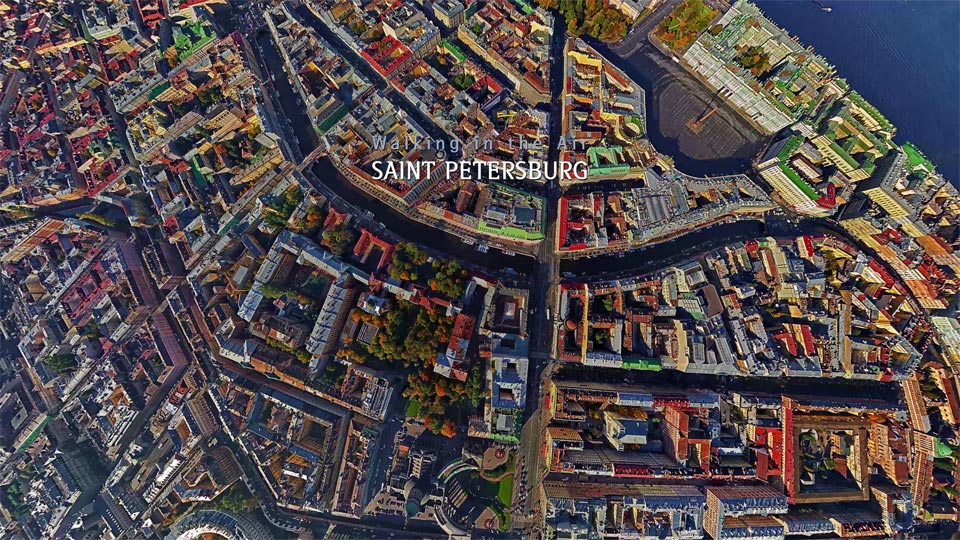 دانلود کلیپ Saint-Petersburg با کیفیت 4K ULTRA HD