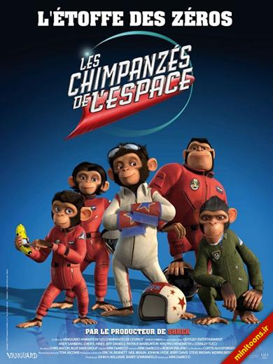 دانلود انیمیشن میمونهای فضایی – Space Chimps