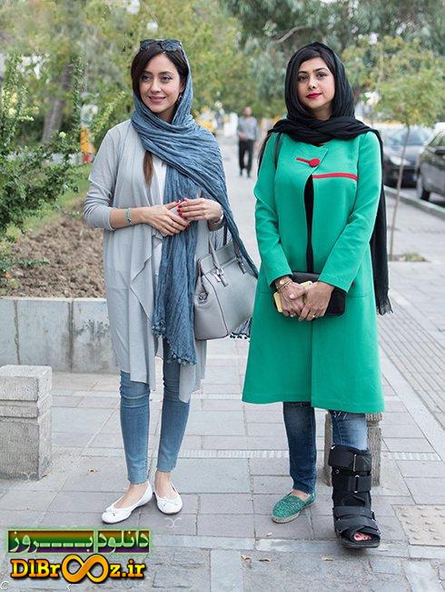 عکس های آزاده صمدی و بهاره کیان افشار در نمایشگاه عکس چند سالگی های من