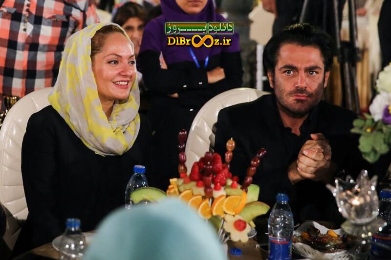 عکس محمدرضا گلزار و مهناز افشار در هجدهمین جشن خانه سینما 95