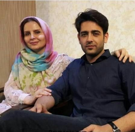عکس جدید امیرحسین آرمان در کنار مادرش