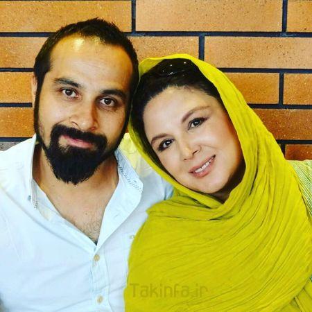 عکس جدید شهره سلطانی و همسرش