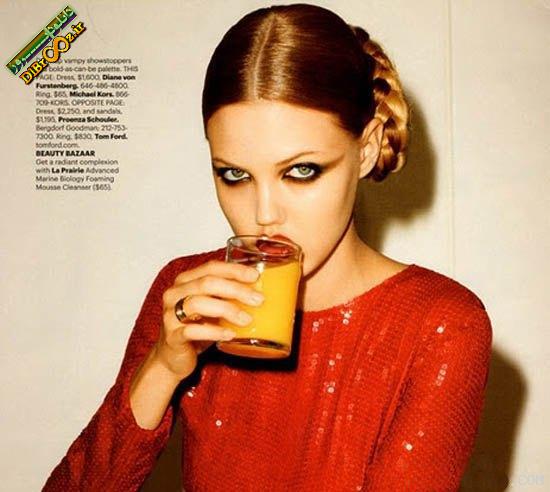 دختران مدل زیبای جهان