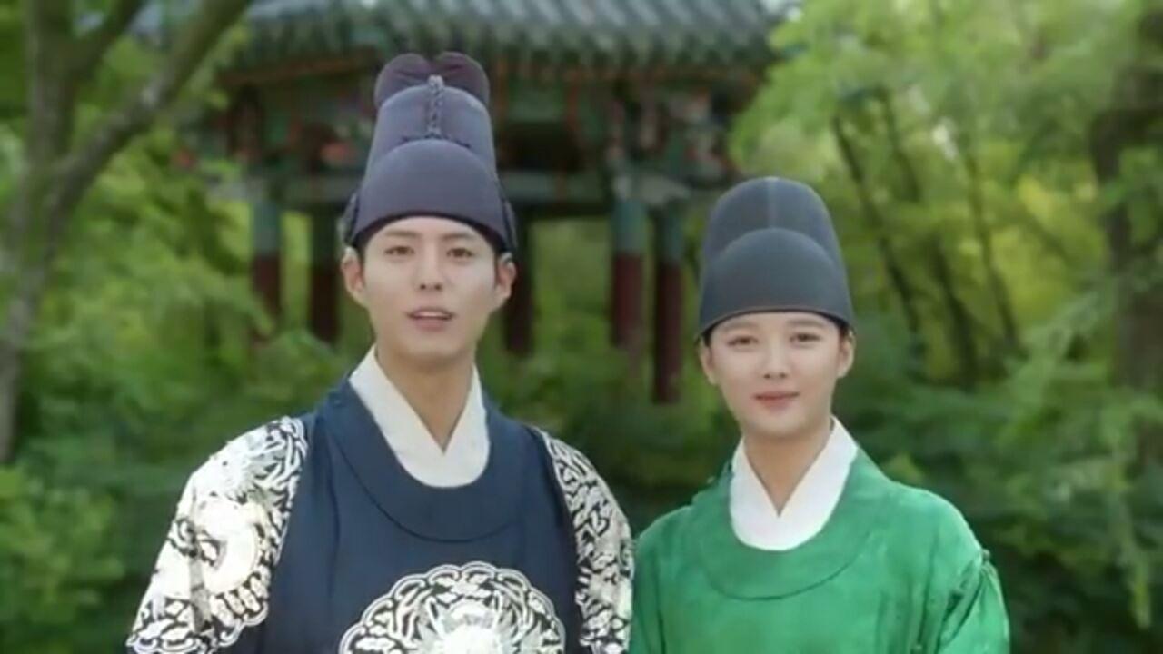 پارک بوگوم و کیم یوجونگ از طرفدارا به خاطر ریتینک سریال تشکر کردن و چوسوک رو تبریک گفتن!