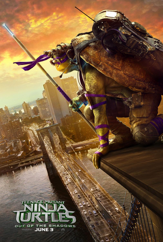 دانلود فیلم Teenage Mutant Ninja Turtles Out of the Shadows 2016 دوبله فارسی