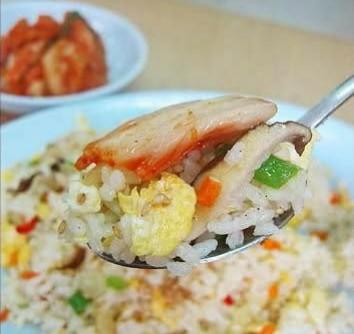 طرز تهیه برنج تفت داده شده(بگم بب)