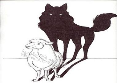 بره های این حوالی گرگ ها را میدرند