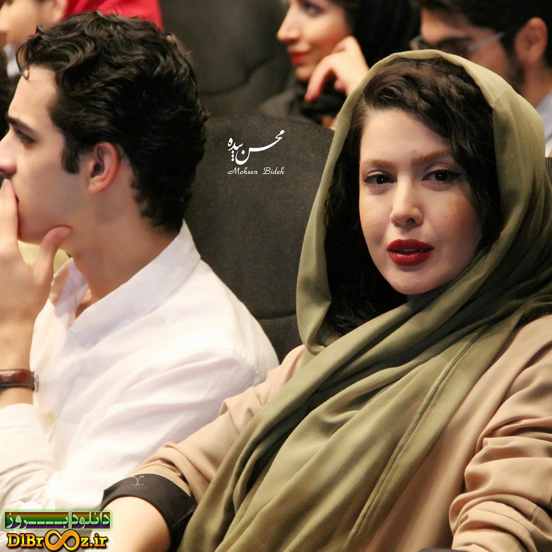 عکس های نازنین کریمی در اکران فیلم هیهات