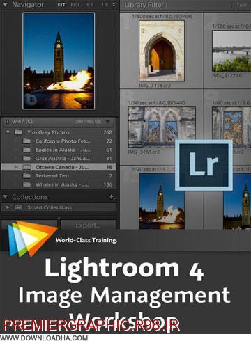 دانلود فیلم اموزشی کار با photoshop Lightroom 4
