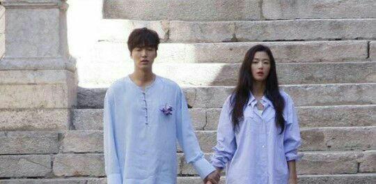 رسانه های محلی اولین نگاه های اجمالی به سریال جدید lee min ho و Jun ji hyun  به نام the legend of the blue sea را منتشر کرد