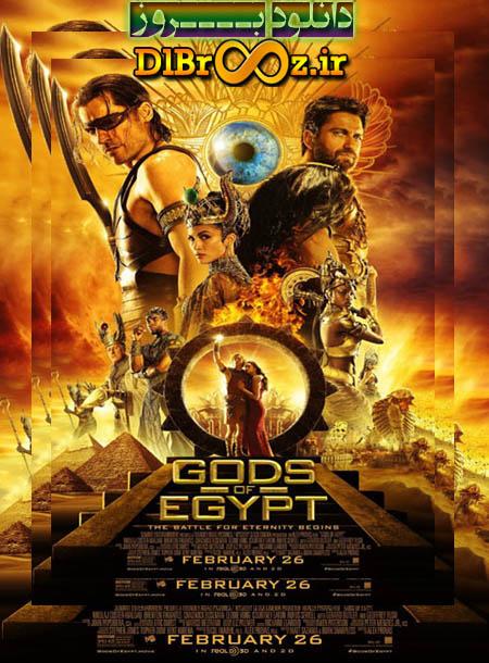 دانلود فیلم خدایان مصر Gods of Egypt 2016 دوبله فارسی
