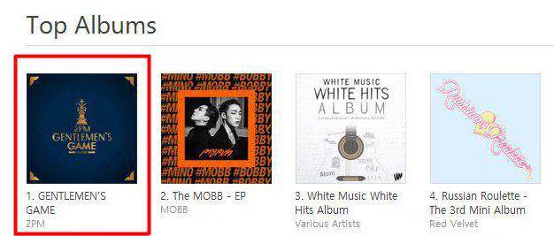 ⚜ آلبوم جدید گروه 2PM با نام Gentlemen's Game چارت های iTunes آسیا را تسخیر کرد