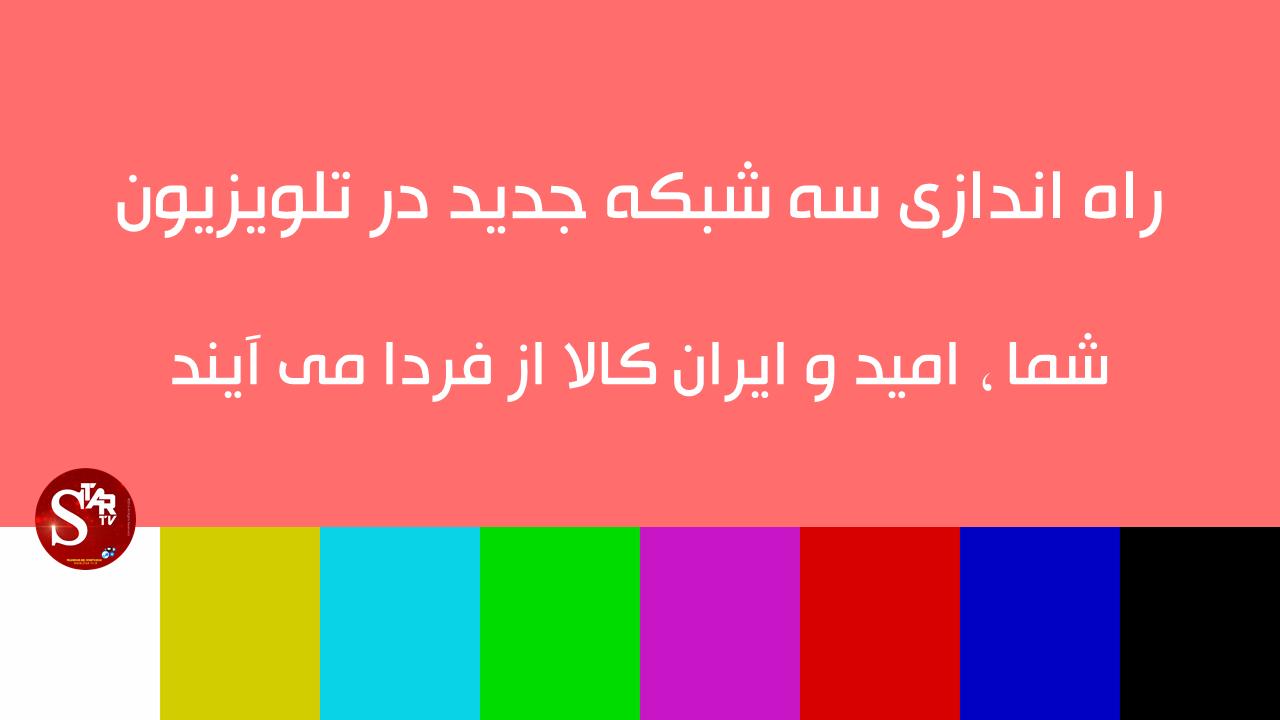 تلویزیون فردا صاحب سه شبکه جدید می شود