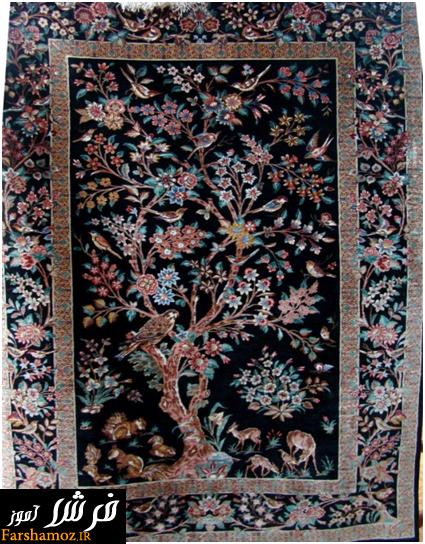 فرش های بافت قم
