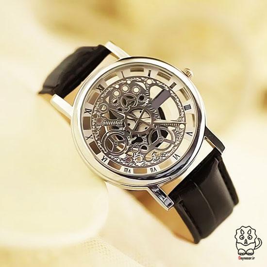 مدل ساعت سه بعدی