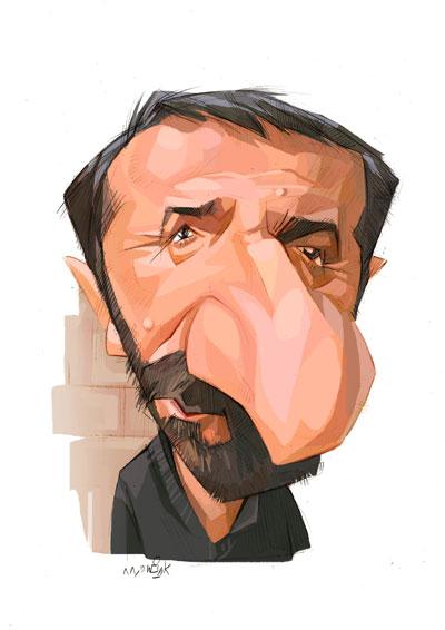 کاریکاتور های جدید بازیگران ایرانی