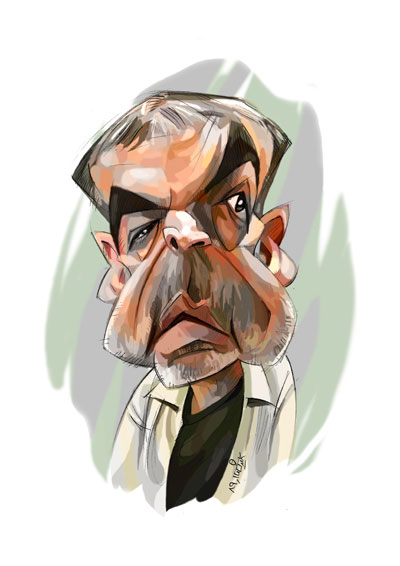 کاریکاتور خشایار