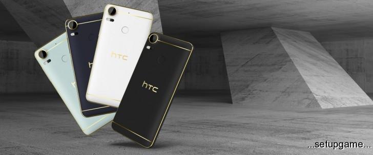 HTC پرچمدارهای جدید سری Desire 10 را معرفی کرد