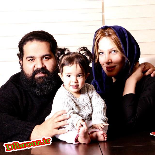 عکس های جدید رضا صادقی با همسرش