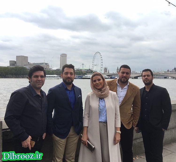 عکس های بازیگران فیلم بارکد در لندن