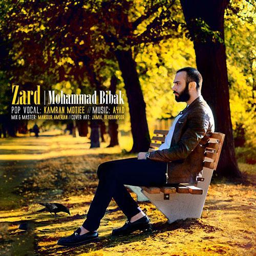 دانلود آهنگ جدید محمد بیباک - زرد