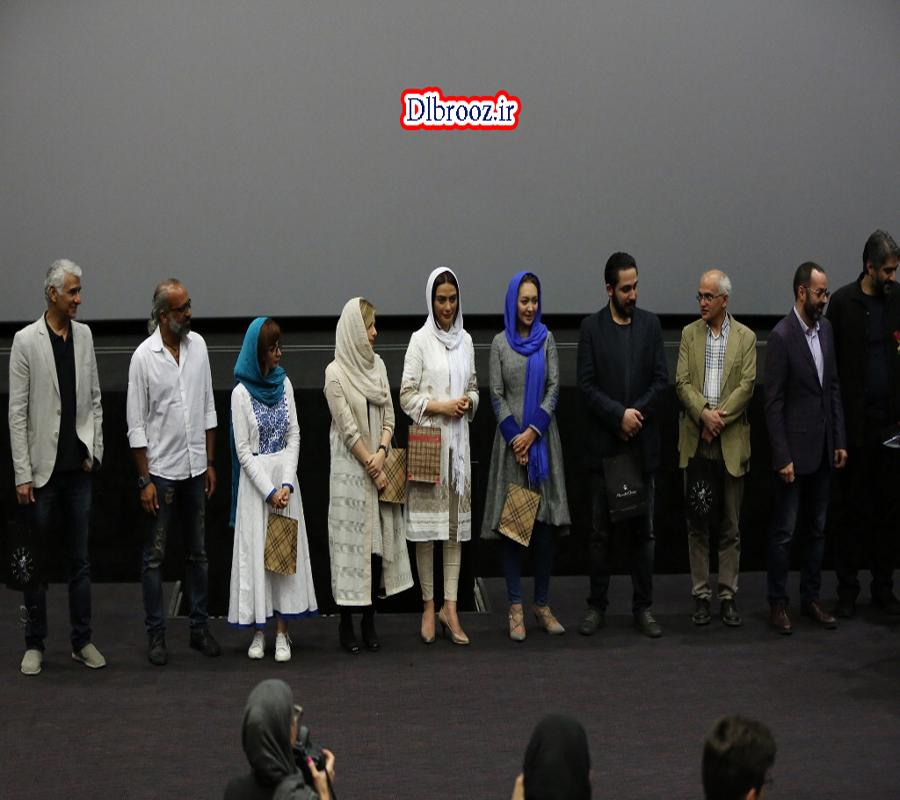 عکس بازیگران در اکران فیلم ربوده شده