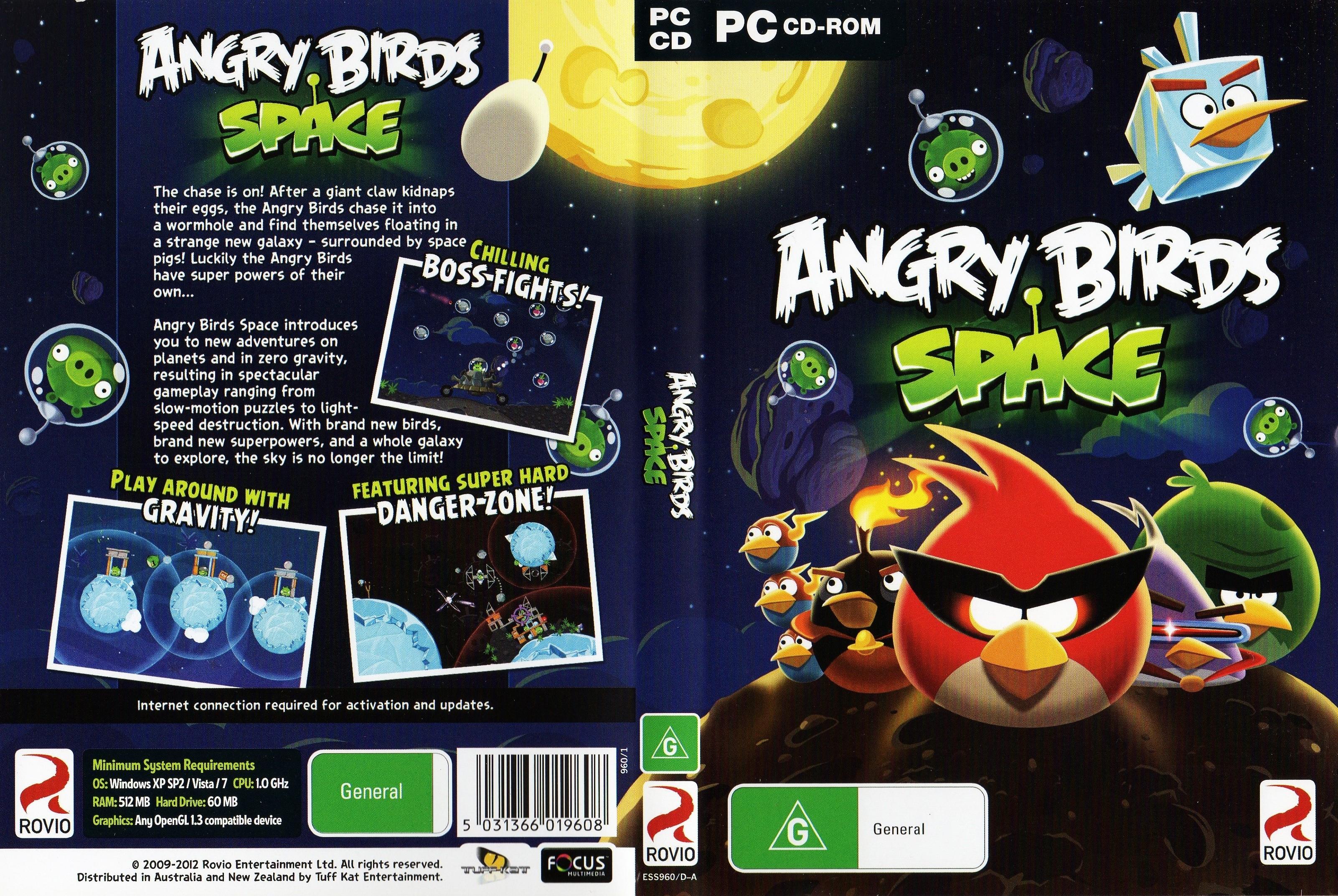 دانلود بازی محبوب  Angry Birds Space برای کامپیوتر