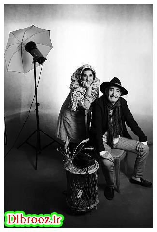 عکس های آتلیه ای فرهاد آئیش و همسرش