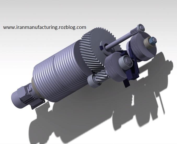 پروژه طراحی چرخ دنده مارپیچ (طراحی چرخ دنده های گیربکس یک سیستم)