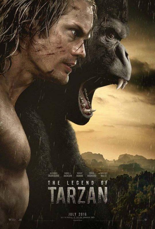 دانلود دوبله فارسی فیلم The Legend of Tarzan 2016