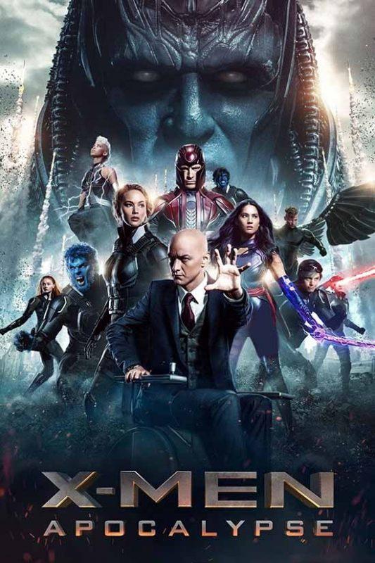 دانلود دوبله فارسی فیلم X-Men: Apocalypse 2016