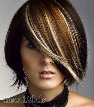 مدل هایلایت مو 2017 - The model highlighted hair